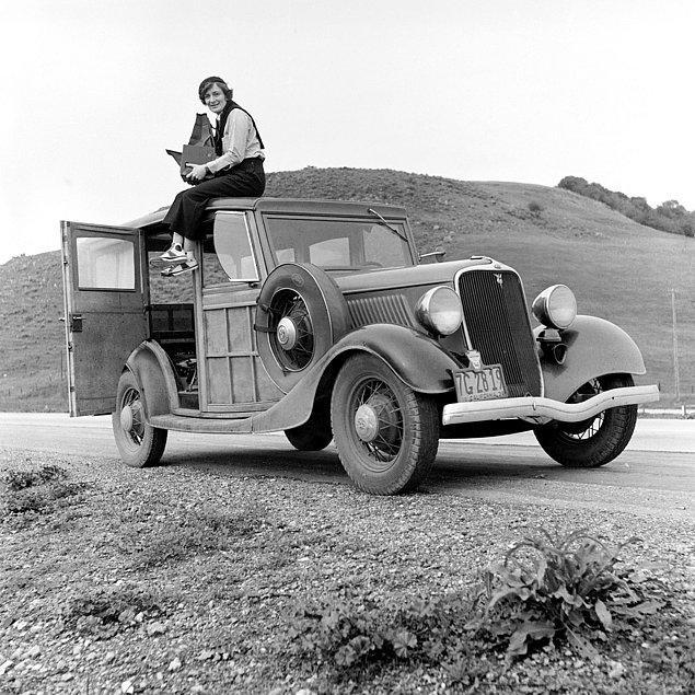 10. Dorothea Lange