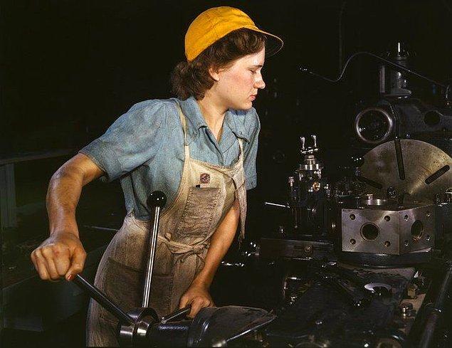 12. İşçi kadın