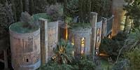 Eski Çimento Fabrikasını Fantastik Filmlerdeki Gibi Bir Eve Dönüştüren İspanyol Mimar