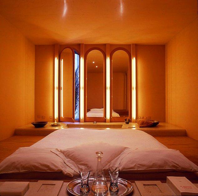 Evin her bir odası birbirinden tamamen farklı olacak şekilde tasarlandı.