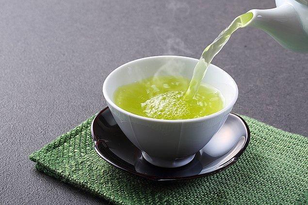 3. Yeşil çay