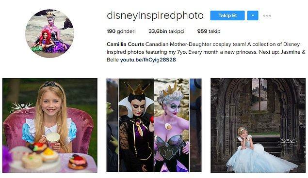 Camillia Courts'un bu güzel çalışmalarını paylaştığı Instagram hesabının 35 bine yakın takipçisi var ve sayı gitgide artıyor.