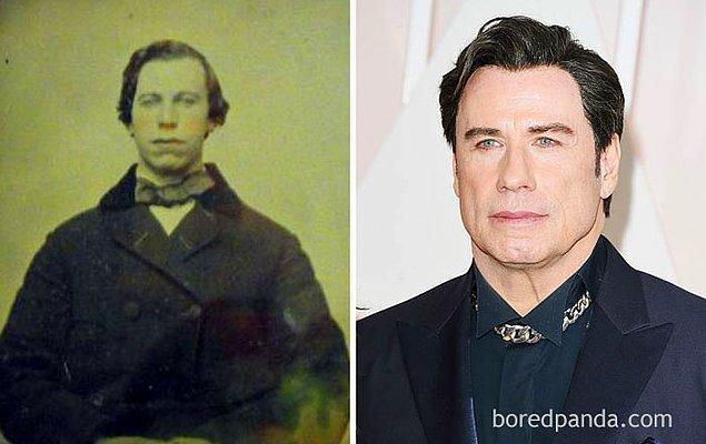 15. 1860'lardan bu adam ve John Travolta.