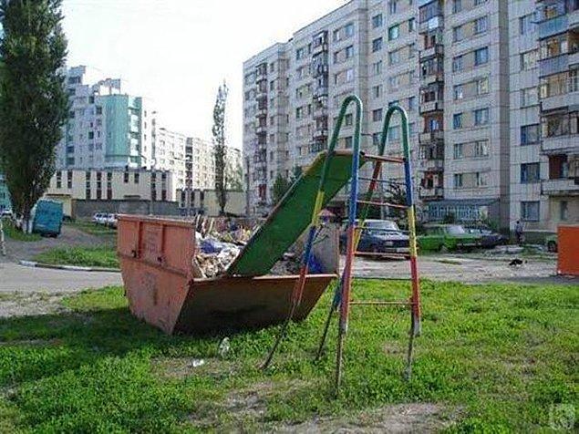 6. Bu park çocuklarına sert ve keskin bir hayat dersi vermek isteyen aileler için