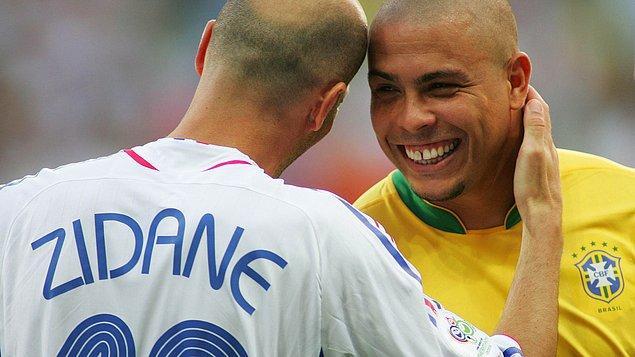 """3. Zidane: """"O benim idolüm."""""""