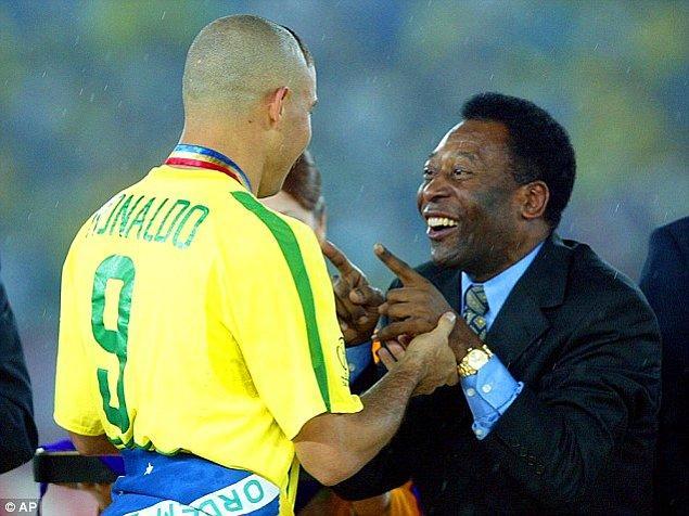 """9. Pele: """"Brezilya'da O'nun 1 numaralı hayranı benim ama yinede benimle, O'nu kıyaslamayın."""""""