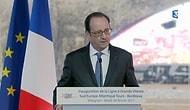 Hollande Konuşurken Polisin Keskin Nişancı Tüfeği Ateş Aldı
