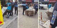 Mersin'de Zabıtalar Tarafından Arabasına El Konulan Kağıt Toplayıcısı Çocuk