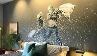 Banksy Filistin'deki Çalışmasıyla Döndü: 'Dünyanın En Kötü Manzaralı Oteli; The Walled Off'