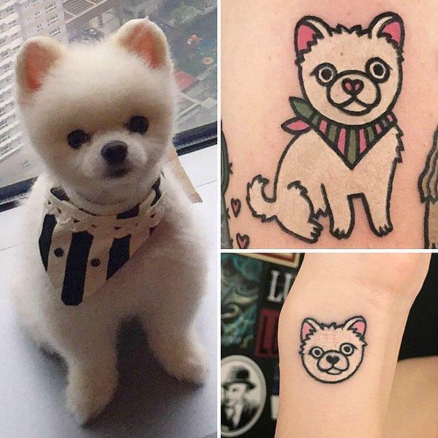 9. Dövmelerinin her biri hayvanın gerçek eğlenceli ruhunu ortaya çıkarıyor.
