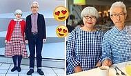 37 Yıllık Uyum: Kıyafetlerini Koordineli Giyerek Hepimizi Gülümseten Tarz Sahibi Çift!