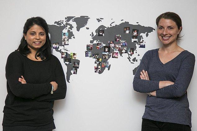 19. Anna Stork ve Andrea Sreshta