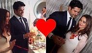 Düğün Var Düğün! Aşkın En Romantik Halini Yaşayan Fahriye Evcen ve Burak Özçivit Nişanlandı