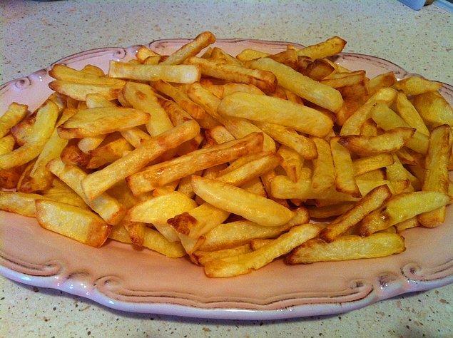 3. Her annenin patates kızartışı bir başkadır!