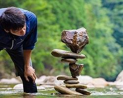 Japon taş ustası Kokei Mikuni'den: Taş dengeleme sanatı