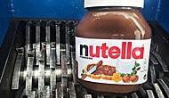 Önüne Gelen Her Şeyi Parçalayan Makineye Nutella Atılırsa Ne Olur?