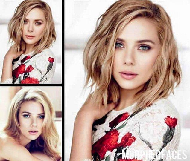 1. Elizabeth Olsen ve Scarlett Johansson