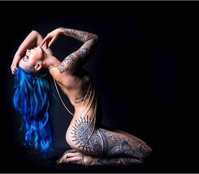 Summer vücudunun fotoğraflarını sosyal medyada paylaştığında binlerce takipçisi oldu.