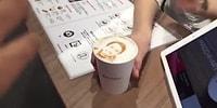 Türkiye'ye Getiren Kamyonla Para Kazanır! Kahvenin Üzerine İstenilen Fotoğrafı Anında Basabilen Makine
