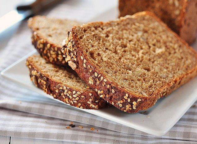 1. Hepimizin bildiği kepekli ekmekle başlayalım...