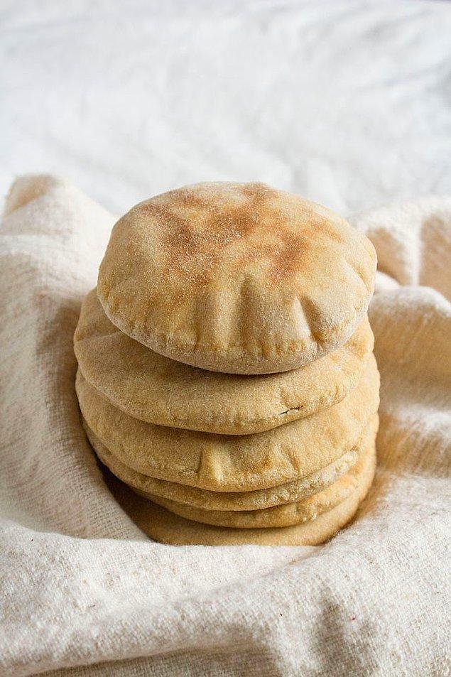 5. Puf puf kabaran mini mini ekmeklerle devam edelim...