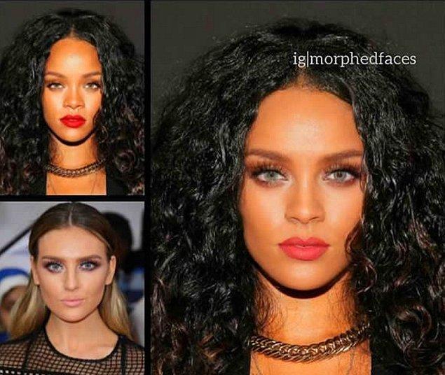 17. Rihanna ve Perrie Edwards