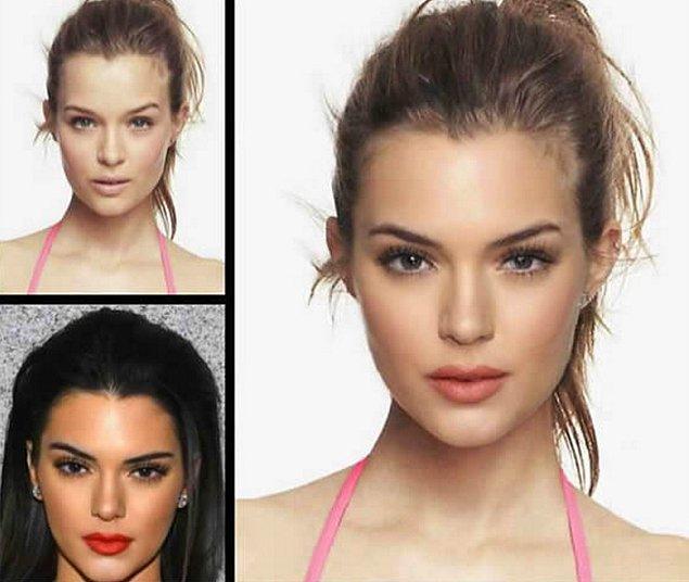 19. Josephine Skriver ve Kendall Jenner