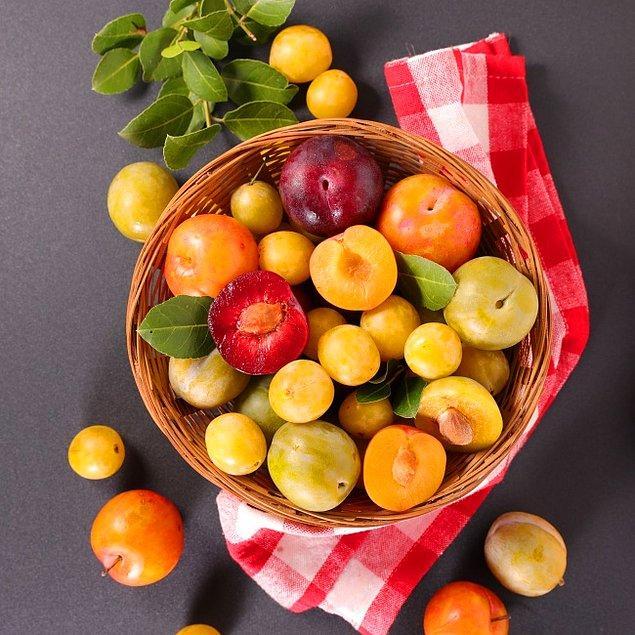 12. Elma ve erik çeşitleri