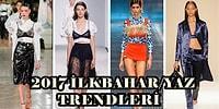 Moda Severler Buraya: İşte Marie Claire'den 2017 İlkbahar / Yaz Trendleri!