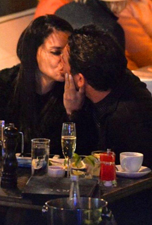 8. Adriana Lima, yeni sevgilisi Matt Harvey ile öpüşürken objektiflere işte böyle yakalandı.