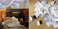 Hollanda'da Seçimler Sırasında Dev Ekranda Yanlışlıkla Porno Film Gösterilen Sandık