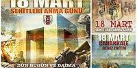 Sosyal Medya Genelkurmay Başkanlığı'nın Atatürksüz Çanakkale Afişlerini Tartışıyor