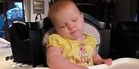 Kafalarını Taşımakta Zorluk Yaşayıp Şipşak Uykuya Dalan Bebeklerin Aşırı Sevimli Anları