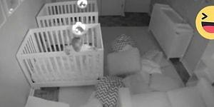 Ebeveynleri Uyuyor Bilirken Gecenin Bir Yarısında Odada Parti Yapan 2 Yaşındaki İkizler