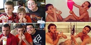Çocukluk Fotoğraflarını Yeniden Canlandıran Yetişkinlerden Birbirinden Güzel 36 Fotoğraf