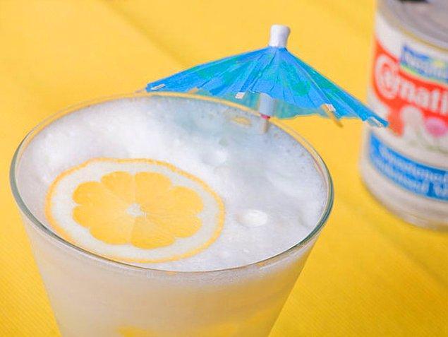 7. Limon+Süt Reçeli+Toz Şeker+Su+Misket Limonu