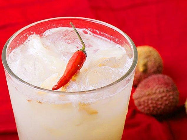 11. Limon+Chili Biber+Toz Şeker+Su+Tonik