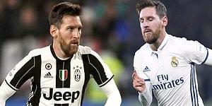 Lionel Messi'yi Diğer Takım Formalarıyla Hayal Etmiş Miydiniz?