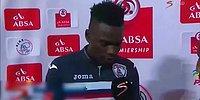 Maç Sonu Açıklamasında Hem Karısına Hem de Sevgilisine Teşekkür Eden Futbolcu!