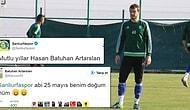 Futbolcusu Batuhan Artarslan'ın Doğum Gününü 2 Ay Önceden Kutlayan Şanlıurfaspor