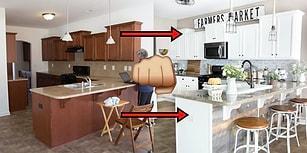 Ağzınızı Şaşkınlıktan Açık Bırakacak 19 Mutfağın Baştan Yaratılma Öncesi ve Sonrası