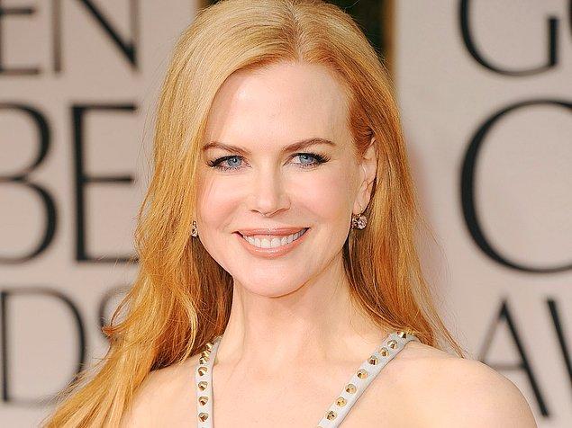 10. Nicole Kidman, kelebeklerden fena şekilde korkuyor.