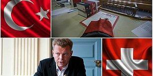 İsviçre'de Açılan ve Erdoğan'ı Hedef Gösteren Silahlı Pankarta İki Ülkede Soruşturma