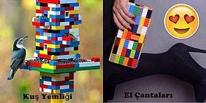 Legoların Günlük Hayatta Kullanımına Dair Aklınıza Hiç Gelmemiş Olan 36 Dahiyane Fikir