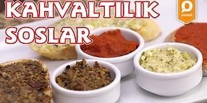 Hafta Sonu Kahvaltısını Özleyenlere; Enfes 3 Farklı Kahvaltılık Sos Nasıl Yapılır?