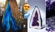 Bize Kuaför Yolu Göründü: Saçınıza Muazzam Renkleri Gizleyecek Değerli Taş Trendi!