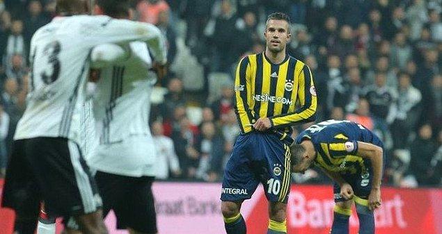 6. Olaylı Beşiktaş - Fenerbahçe derbisinden.