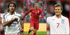 7 Numaranın En Çok Yakıştığı 17 Futbolcu