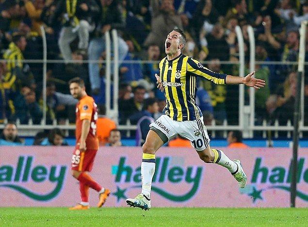 14. RVP'nin gerçek Fenerbahçeli olduğu an.