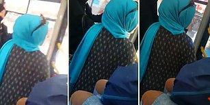 Otobüste Tartıştığı Adama 'Siz Öleceksiniz, Gebereceksiniz, Az Kaldı' Diyen Kadın